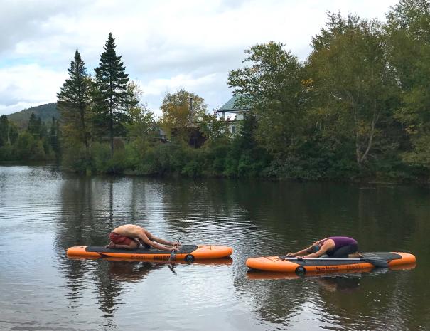 Paddle board lac