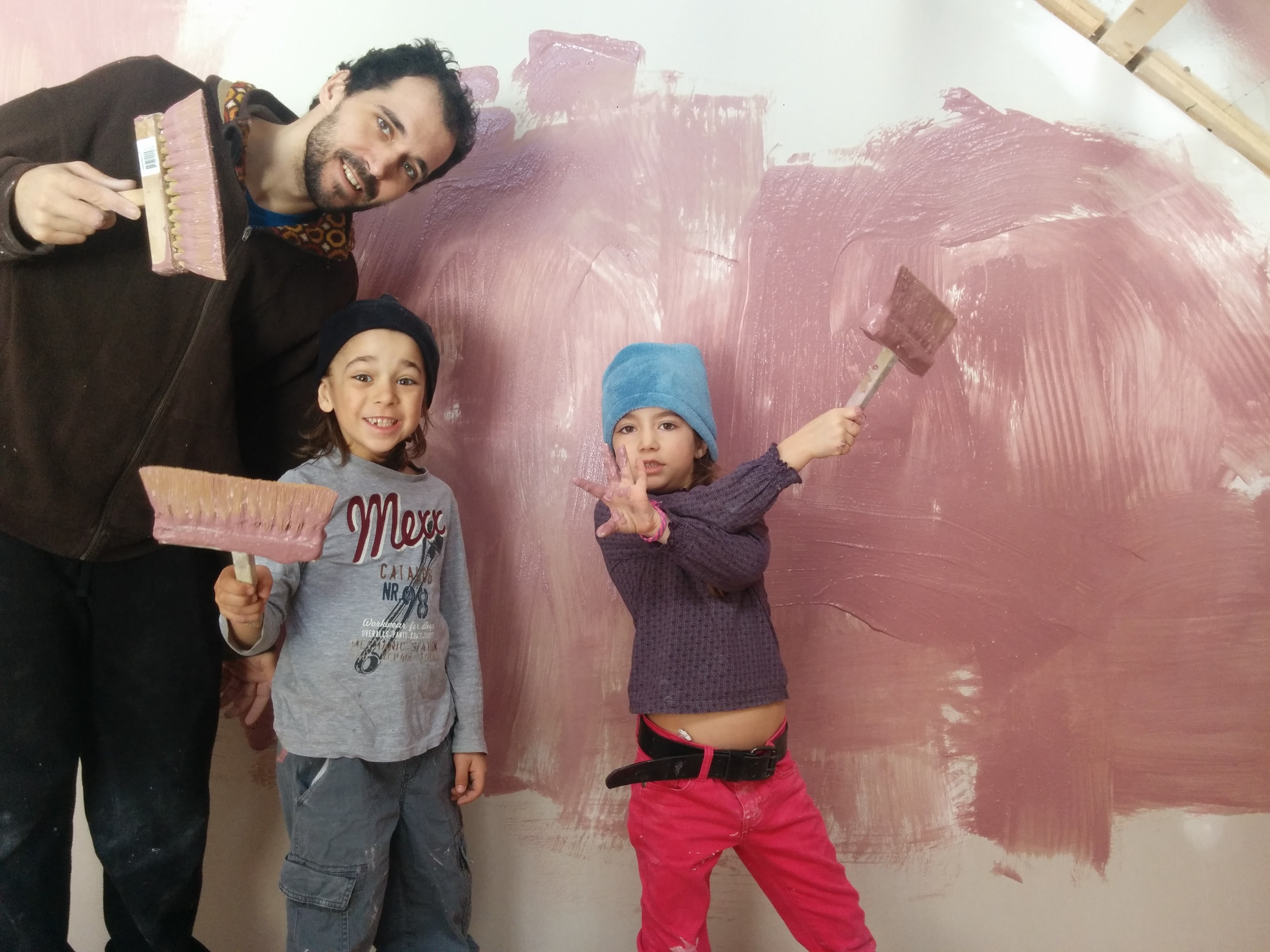 Famille peinture